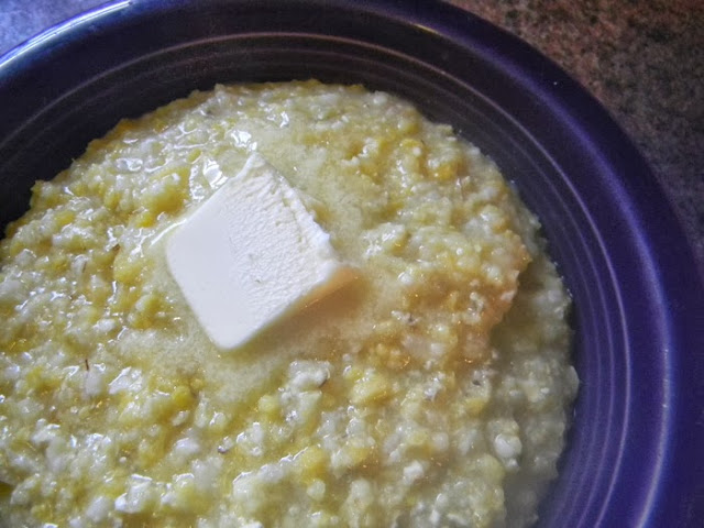 homemade grits