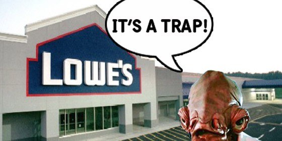 Lowes Trap