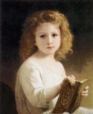 Adolphe-William-Bouguereau-The-Story-Book-10183