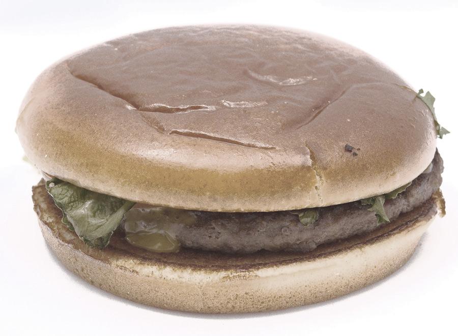 McDonald's immortal hamburger