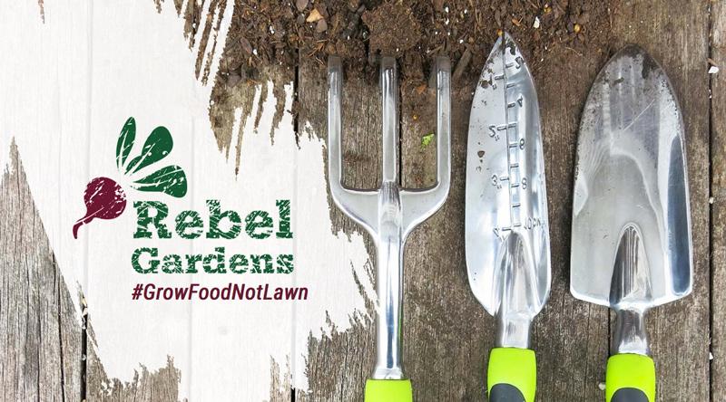 Rebel-gardens