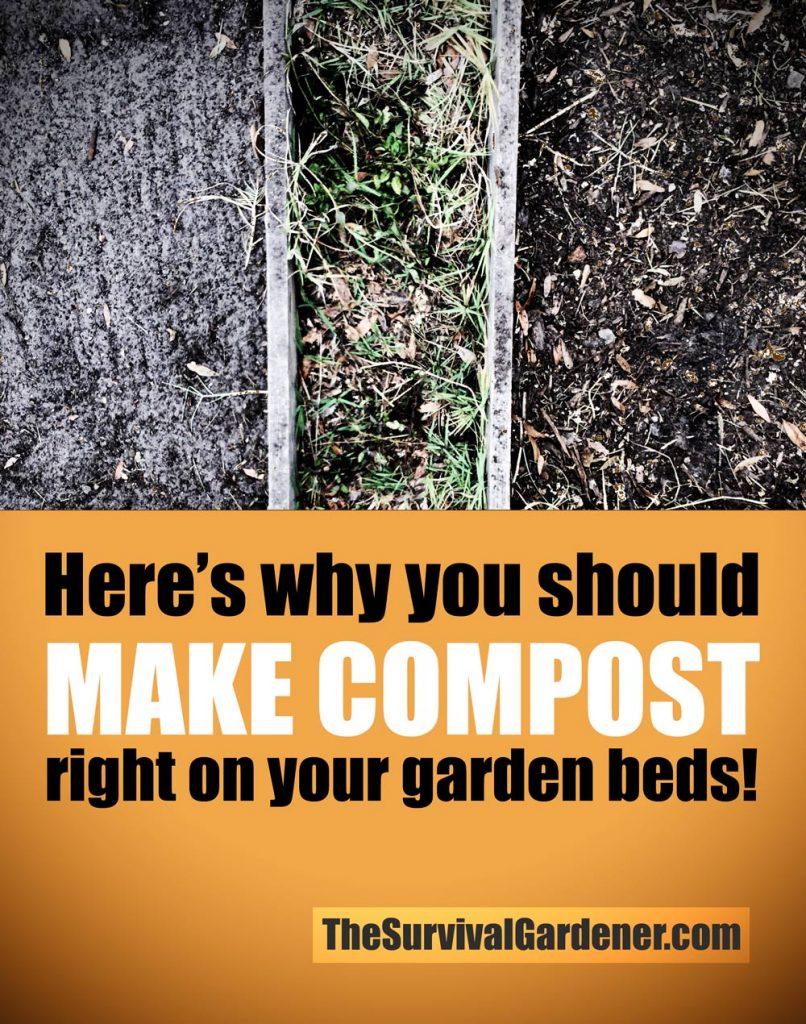 make-compost-on-garden-beds