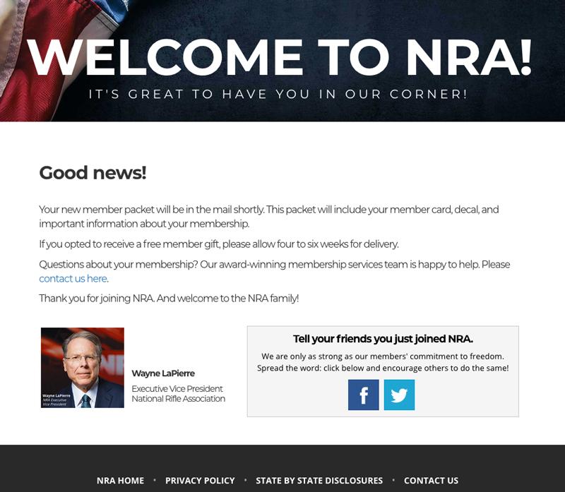 NRA-membership