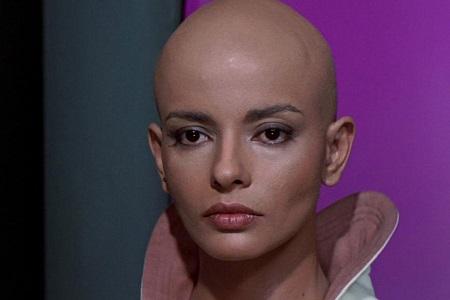 bald woman star trek