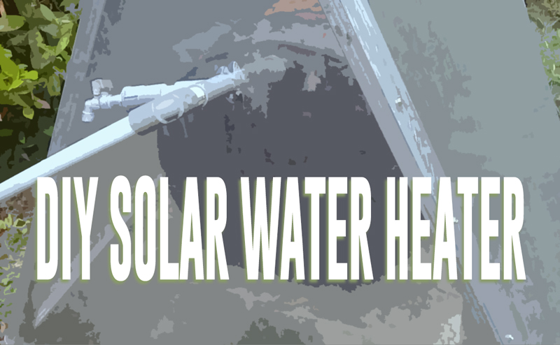 diy solar water heater