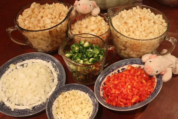 best pear salsa recipe - pear salsa ingredients